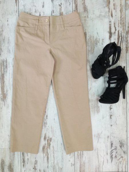 Дамски панталон цвят каки